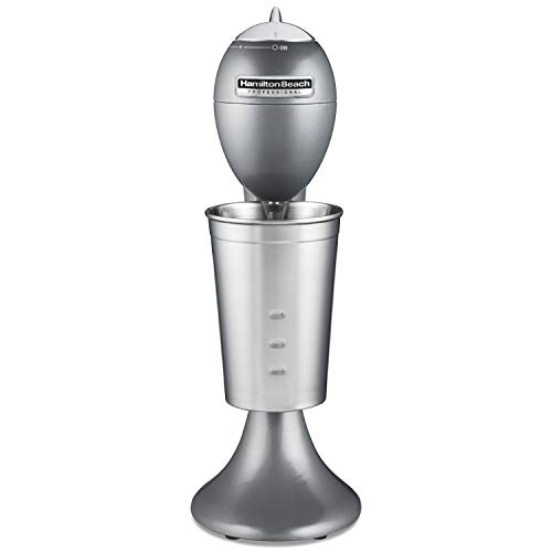 Hamilton Beach 65120 Pro All-Metal Drink Mixer, Gray