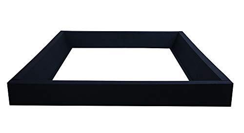 sambatu Schaumrahmen Schaumkeil für Softside Wasserbett mit Corofinummantelung 4-teilig (200 x 200 cm)
