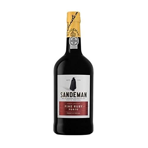 Vino de Oporto Sandeman Ruby - Vino Fortificado - 6 Botellas