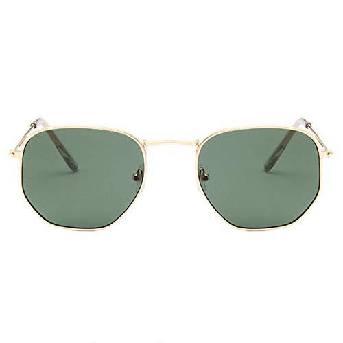 DBSUFV Gafas de Sol polarizadas Vintage para Mujeres, Hombres, Estilo clásico de diseñador, protección contra los Rayos del Sol, Gafas Retro
