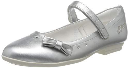 s.Oliver Mädchen 5-5-42800-24 Geschlossene Ballerinas, Silber (Silver 941), 40 EU