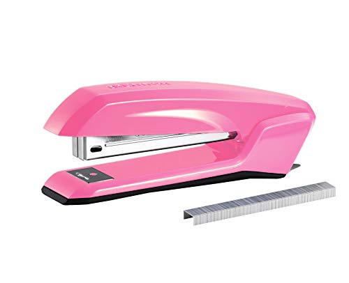 Bostitch Office B210RPINK Bostitch Ascend 3 in 1 Stapler with Integrated Remover amp Staple Storage Pink B210PINK Full Size