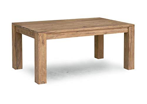 MASSIVMOEBEL24.DE Palisander Holz Möbel massiv geölt Esstisch 220x100 Sheesham Massivmöbel Holz massiv braun Nature Brown #827
