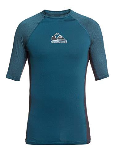 Quiksilver Backwash - Short Sleeve UPF 50 Rash Vest - Männer