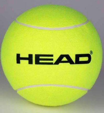 Head - Palla da tennis gonfiabile gigante, unisex, taglia unica, colore: Giallo