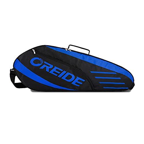 UNISTRENGH Portable Badminton Racket Bag Multifunction Single Shoulder Racket Bag for 3 Racquet or Double Tennis Racket, for Men and Women