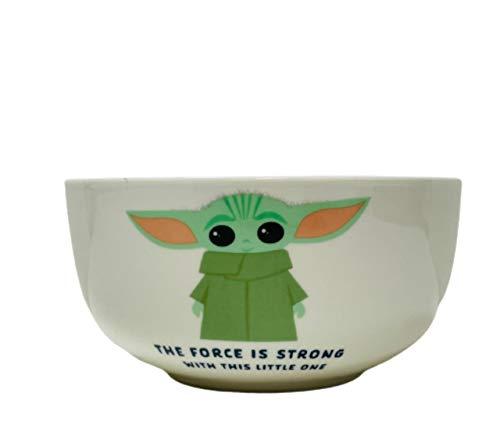 Star Wars Baby Yoda Mandalorian The Child Müslischale Kinder Frühstücksschale