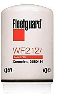 WF2127 Fleetguard Water Coolant Filter (Pack of 2)