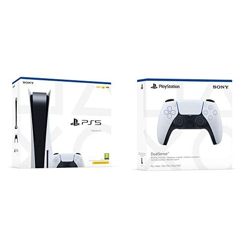 PlayStation 5 Consola + Mando inalámbrico DualSense