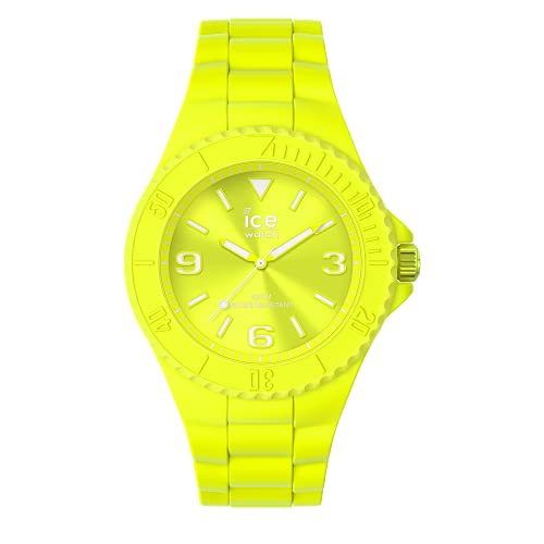Ice-Watch - ICE generation Flashy yellow - Reloj amarillo para Hombre (Unisex) con Correa de silicona - 019161 (Medio)