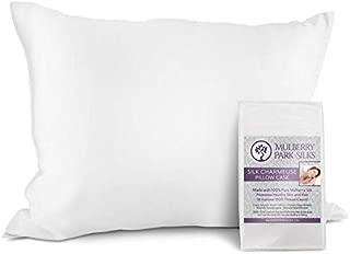 Pure Silk Pillowcase - White Queen Size (20