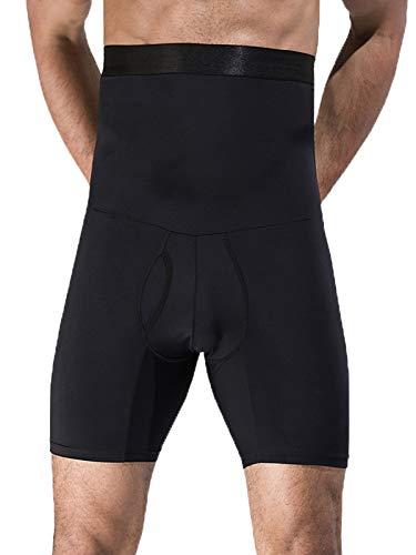 GARYOB Herren Abnehmen Shapewear Hohe Taille Figurformend Bauchweg Unterwäsche Kompression Boxershorts