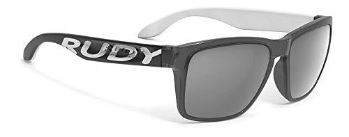Rudy Project Spinhawk Loud Sonnenbrille Crystal ash White - rp Optics Laser Black 2020 Fahrradbrille