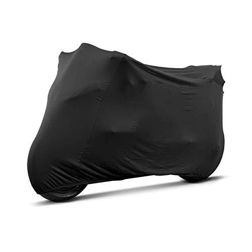 Telo coprimoto Compatibile con Ducati Scrambler 1100 Sport M-L da interno nero