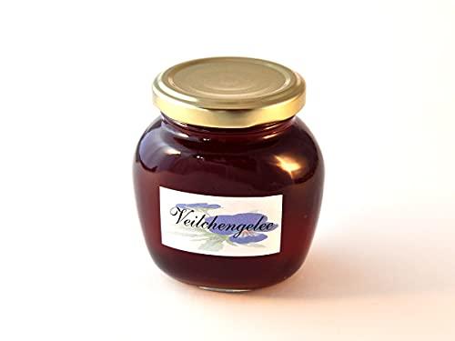 Veilchen – Gelatiera 250 g – fatta a mano – realizzata con fiori di violetta dalla coltivazione biologica – DE-ÖKO-001