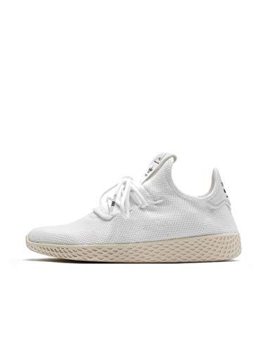 adidas Men's Pw Tennis Hu Gymnastics Shoes, White (Ftwr White/Chalk White), 10 UK (44 2/3 EU)