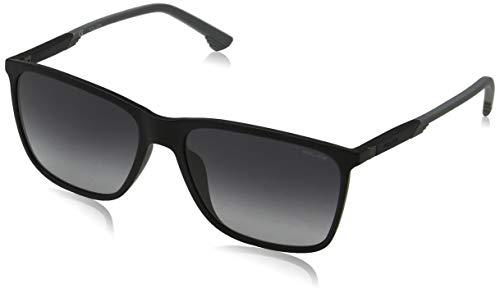 Police Herren STORM LIGHT 1 Sonnenbrille, Schwarz (Black/Black), 57.0