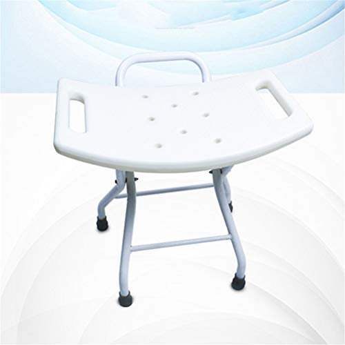 ZXY-NAN Bathroom Wheelchairs Shower Stool, Lightweight Foldable Bathroom Seat for Elderly Disabled and Pregnant Women Bath Chair Bench