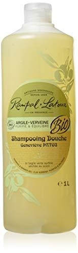 Rampal Latour Shampooing Bio Argile Verte Cheveux Gras Verveine 1 L