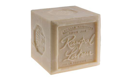 Rampal Latour Sapone di Marsiglia Bianco 72% Cubo Extra...