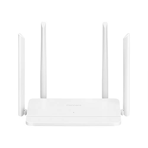 Connant AC1200 Gigabit WiFi Router,Dual Band(5GHz+2.4Gz) Smart Wireless Router, Stable Signal and High Speed for Large Home,Easy Mesh,Wave2 MU-MIMO,Coverage Up to 1,000 SF