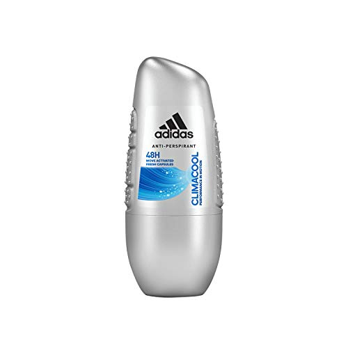Adidas, Climacool Deodorante Roll On Uomo, 48 Ore di Freschezza, 50 ml