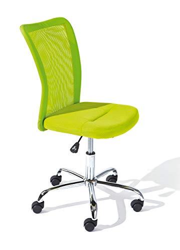 Inter Link Kinderdrehstuhl Bürostuhl Jugenddrehstuhl Schreibtischstuhl Drehstuhl Metall Bezug Mesh...
