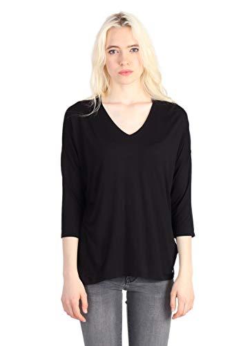 Preisvergleich Produktbild KAPORAL Damen XAREZ T-Shirt,  Schwarz (Black W12 Black),  Small