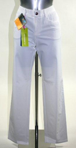 ALBERTO Damen Golfhose weiß 44