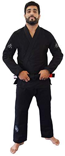 Kimono Jiu Jitsu Balance Keiko Unissex, Preto, A1L