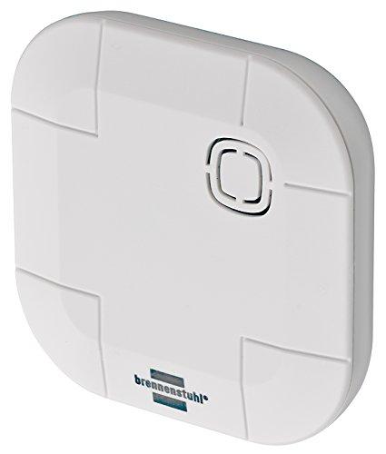 Brennenstuhl Brematicpro Funk-Wassermelder (Smart Home Sensor, Bedienung per App) weiß