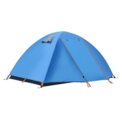 P&B Ping Bu Qing Yun 2-1 People Tent Camping Tents tents for camping (Color : A)