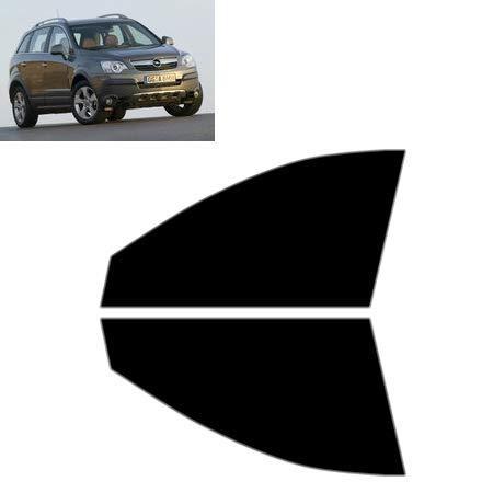 Láminas Solares para Tintar Las Lunas del Coche-Opel Antara 5-Puertas 2007-. Ventanas Laterales Delanteras (70% Ahumado Ultra Ligero)