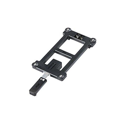 Basil Unisex– Erwachsene MIK Adapterplatte, Black, One Size