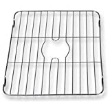 Better Houseware 1487.8 Large Sink Protector Grid, Stainless Steel