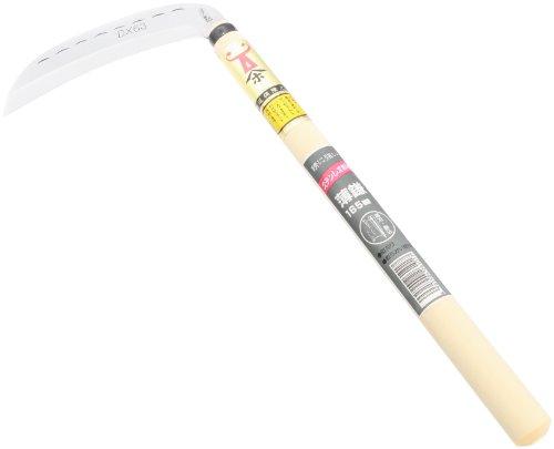 ステンクラッド鎌 165mm 1.2尺 柄入