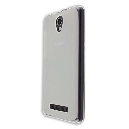 caseroxx TPU-Hülle für Archos Access 50 Color 3G, Handy Hülle Tasche (TPU-Hülle in transparent)
