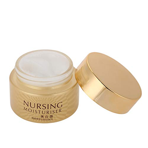 Crema Faical, Crema Reparadora Facial, Doble Eficacia Buena Absorción Cuidado Intensivo de la Piel Práctico 50g para Blanquear la Piel Facial Crema Hidratante