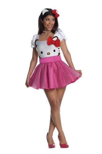 Pinky Hello Kitty Kostüm für Damen-XS