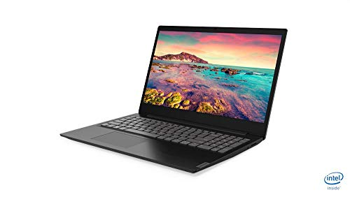 Lenovo IdeaPad S145 15 Inch (15.6') FHD Laptop - (Intel Core i3, 4GB RAM, 128GB SSD, Windows 10 Home S Mode) - Granite Black