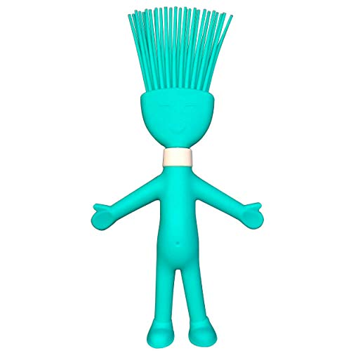 Silicone Pastry Basting Brush, real power Heat Resistant Cute Cartoon Brush for Spread Oil Butter Sauce Kitchen Cooking Baking Cakes Meat Food, Party Barbecue BBQ Grilling, Food Grade, Dishwasher Safe