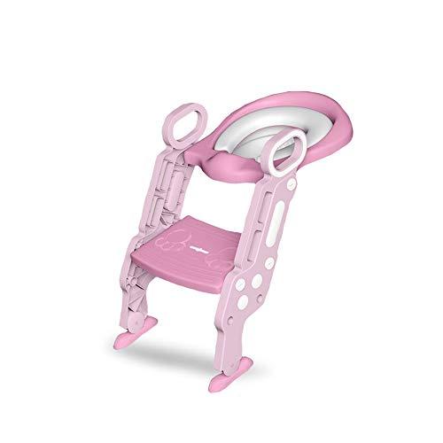 ZOOTUI® Adaptador WC Niños Plegable,Adaptador WC Niños con Escalera, Asiento De Inodoro...