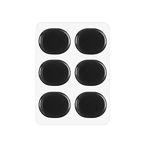 Drum Mute Pad Drums Dämpfer Gel Pads Drum Muffler-Werkzeug-Set Schlaginstrument Accessorie für Gitarren Holzblasinstrument Zubehör Saxophone ( Color : Black )
