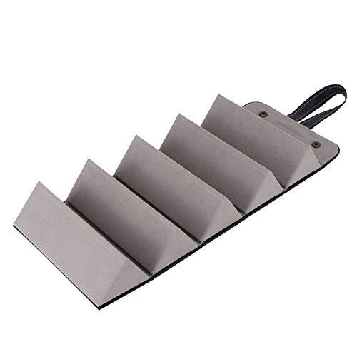 Boîte de rangement pour lunettes, boîte de lunettes de soleil design suspendue, grande capacité durable pour boucles d'oreilles colliers bijoux montres(black)