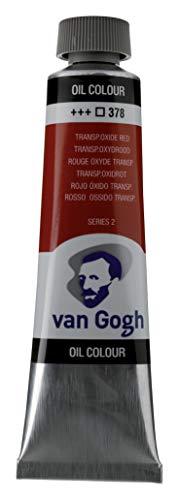 Royal Talens : Van Gogh Oil Paint : 40ml : Transparent Oxide Red S2