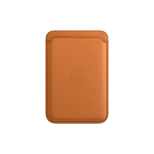 Apple Cartera de Piel con MagSafe (para el iPhone) - Ocre