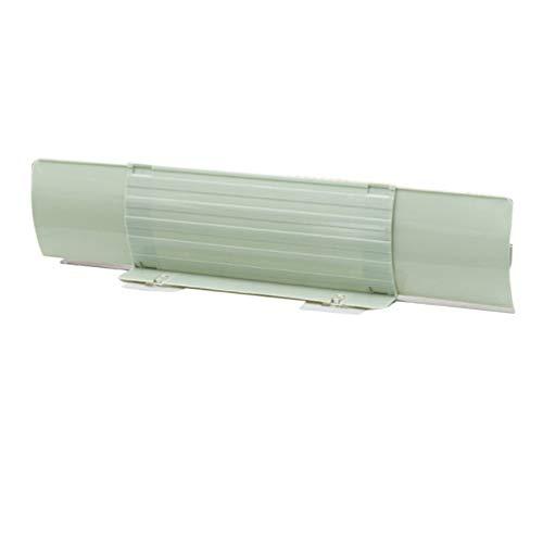 UPKOCH Protector de Salpicaduras de Agua de Cocina Deflector de Piscina retráctil salpicadero de Agua de Piscina Protector de Salpicadura Transparente para Fregadero de Cocina (Verde)