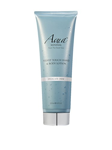 CREME VELVET TOUCH LOTION MAINS & CORPS DÉLICATE ROSÉE 250ML AQUA MINERAL FROM THE DEAD SEA