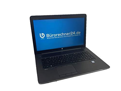 HP ZBook 17 G3 - Premium Workstation 17,3 Zoll   Intel Core i7   32GB RAM   1TB SSD   4GB Nvidia Quadro M3000M   Windows 10 Pro - (Zertifiziert und Generalüberholt)