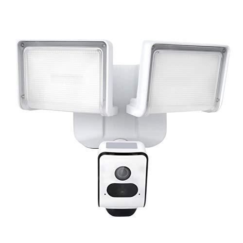 1080P WIFI Cámara de monitoreo remoto Detección de movimiento Luz de sonido Cámara de vigilancia de alarma IP55 Cámara de seguridad de visión nocturna por infrarrojos a prueba de agua